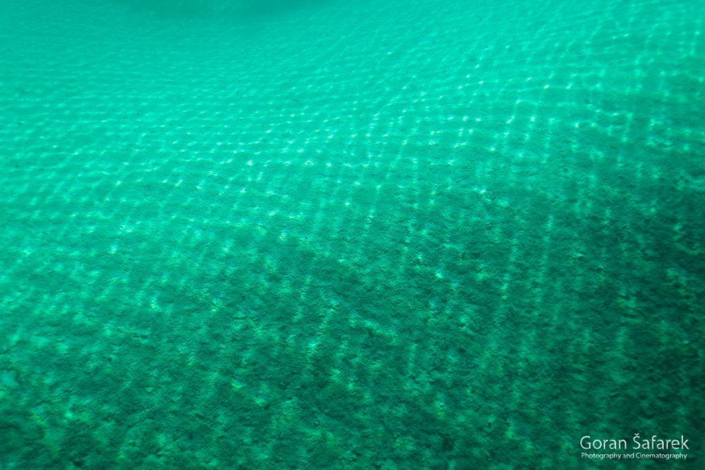 plitvička jezera, nacionalni park, sedra, voda,  dno
