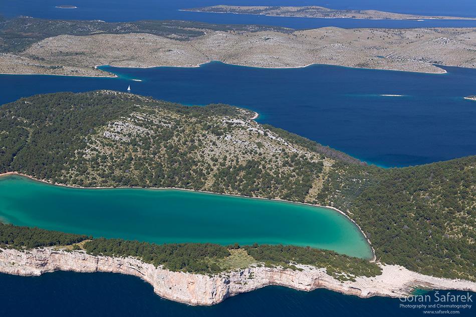 park prirode, telašćica, Dugi otok, dalmacija, otoci, jadran, more, obala, jezero mir, boćata, slano jezero