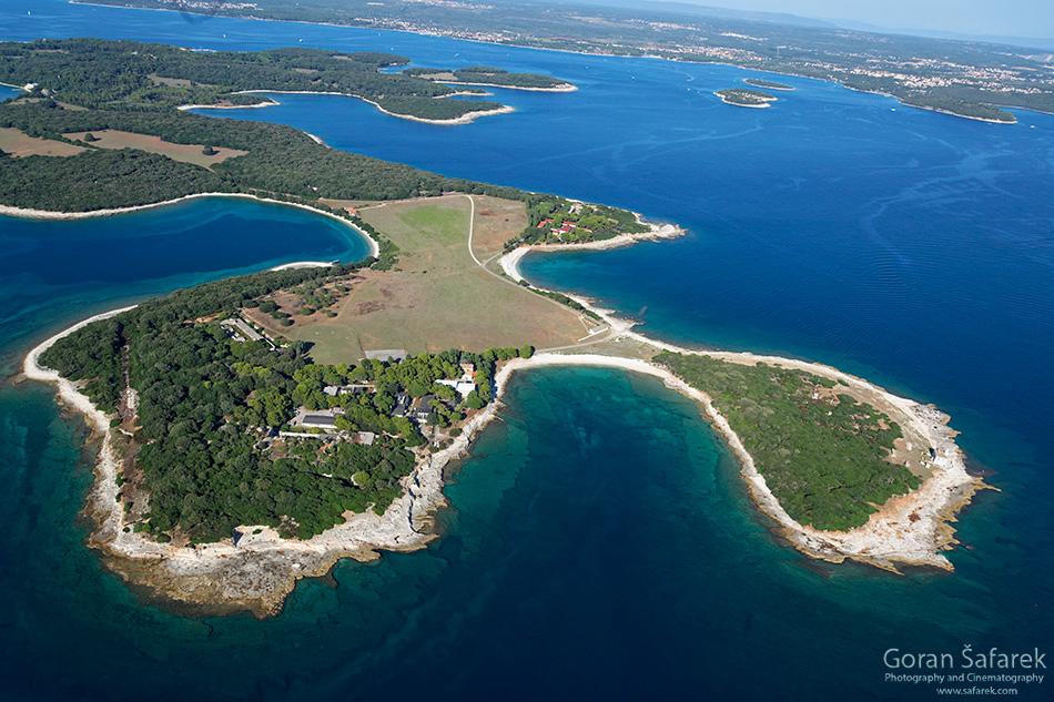 Brijuni, more, Istra, Jadran, otoci,nacionalni park