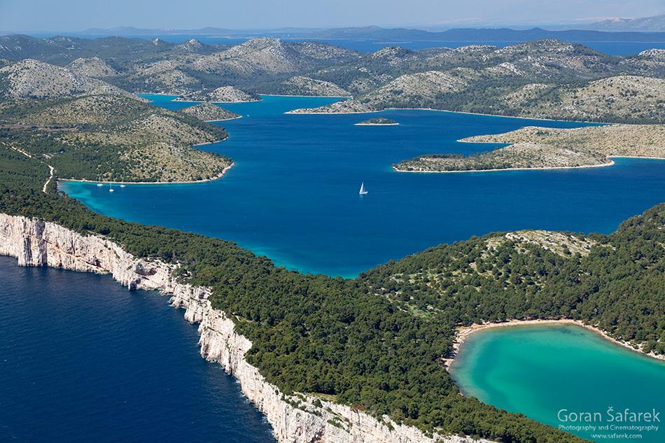 park prirode, telašćica, Dugi otok, dalmacija, otoci, jadran, more, obala, jezero mir, klifovi, strmci