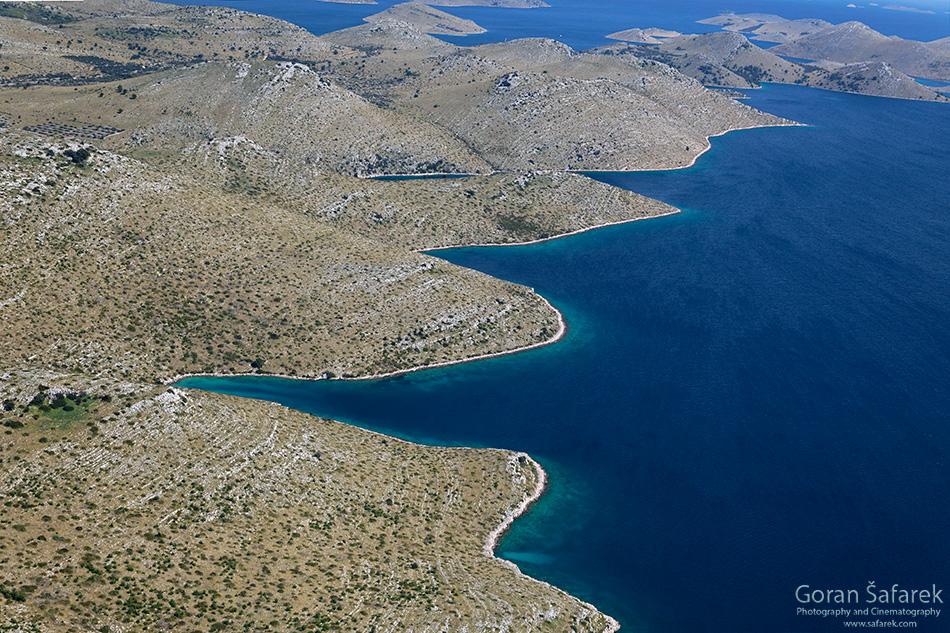 park prirode, telašćica, Dugi otok, dalmacija, otoci, jadran, more, obala, uala, krš, kamenjar, kornati