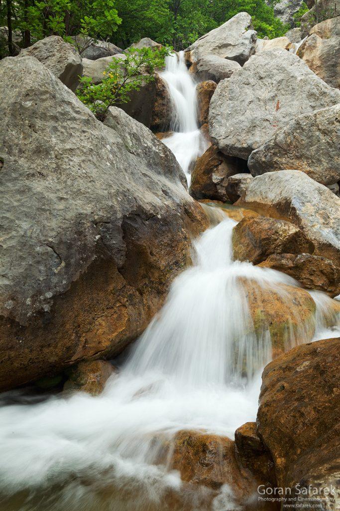nacionalni park, paklenica, velebit, potok, rijeka,kanjon, slap, vodopad, brzak