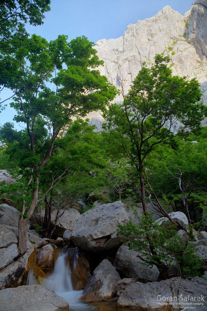 nacionalni park, paklenica, velebit, potok, rijeka,kanjon, anića kuk
