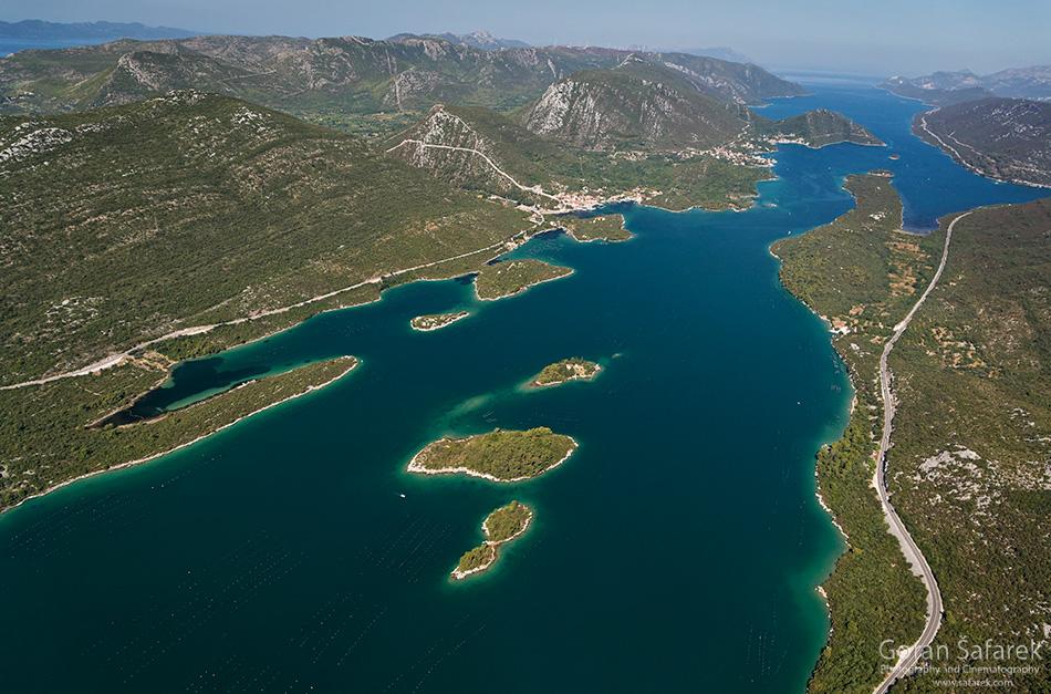 dubrovnik, krš, jadransko more, obala, jug, Malostonski zaljev, pelješac