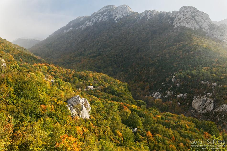 paklenica, jesen,velebit, nacionalni park