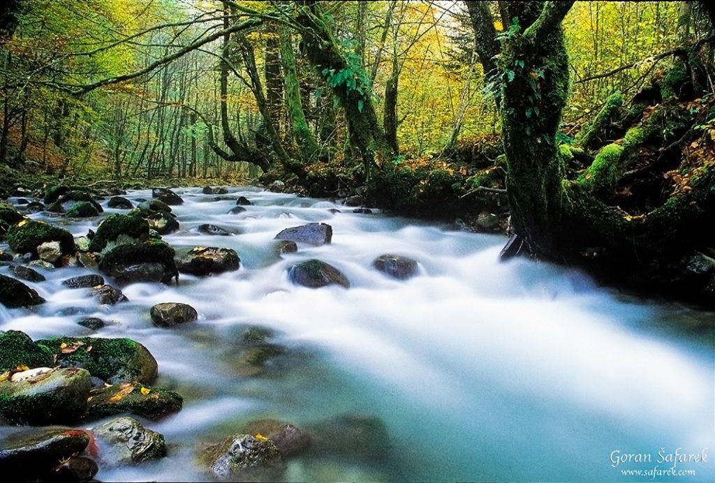 gorski kotar, zeleni vir, vražji prolaz, planine, rijeke, izvor