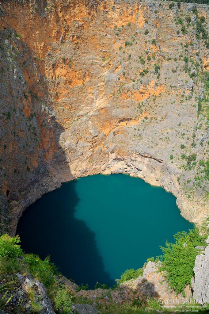 crveno jezero, imotski