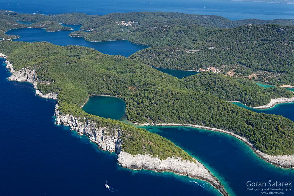 mljet, nacionalni park, jadransko more, tok,otoci, obala, jadran,
