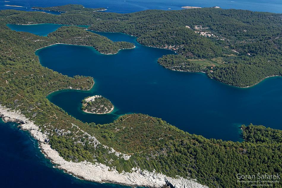mljet, nacionalni park, jadransko more, tok,otoci, obala, jadran, veliko jezero