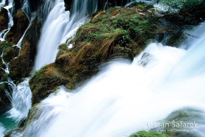plitvička jezera, nacionalni park, sedra, voda, slap, vodopad, Sastavci