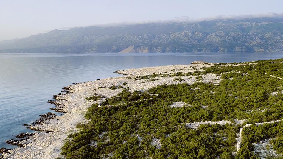 pag, otoci, dalmacija, zadar, kamenjar, krš