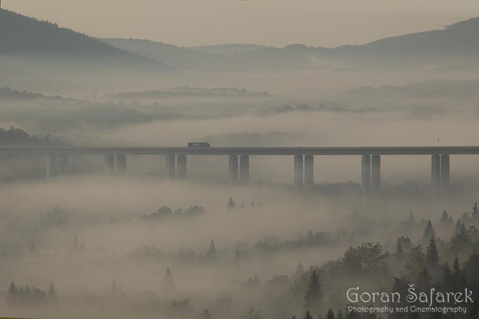 gorski kotar, šuma, planine, hrvatska, oblaci, priroda, vijadukt