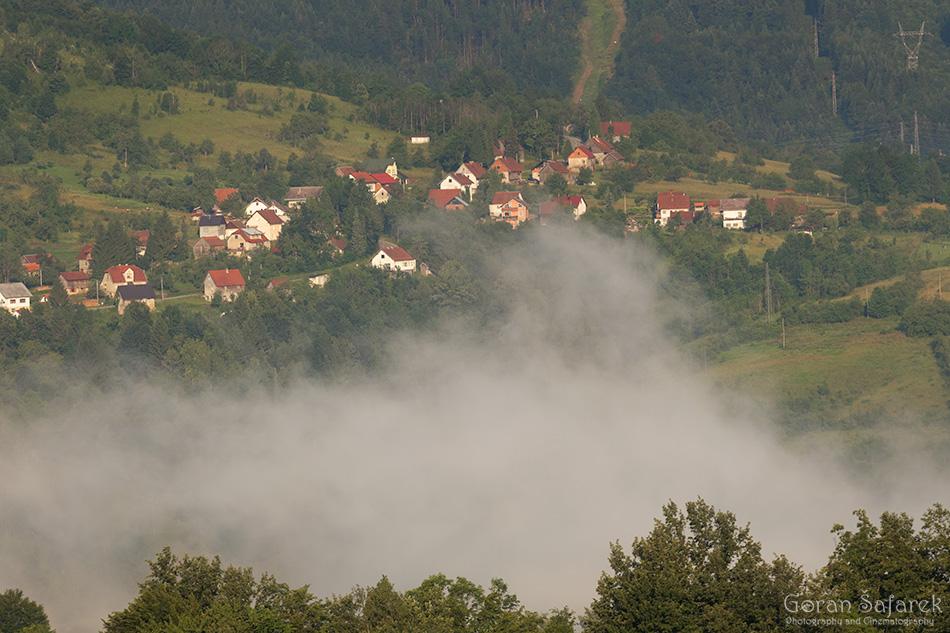 gorski kotar, šuma, planine, hrvatska, oblaci, priroda