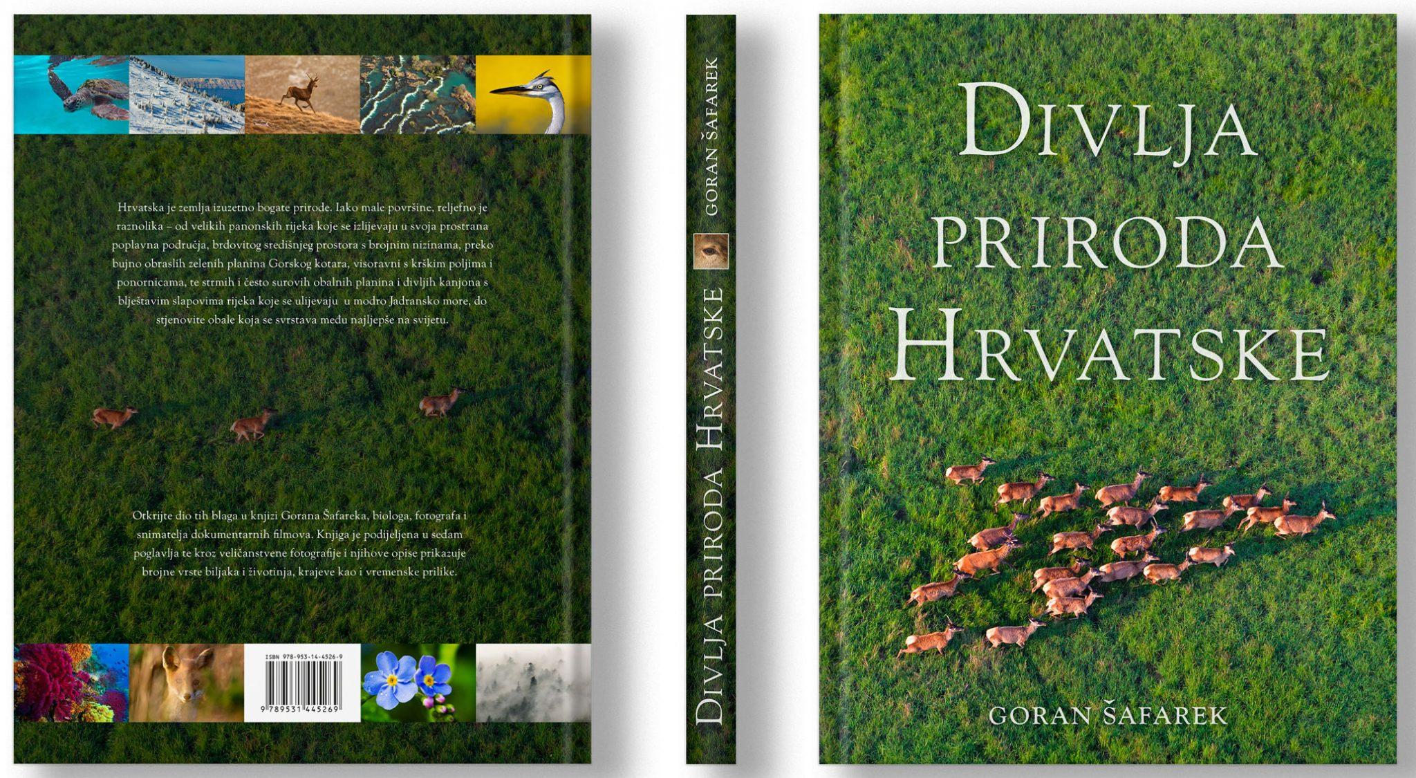 Nova knjiga: Divlja priroda Hrvatske