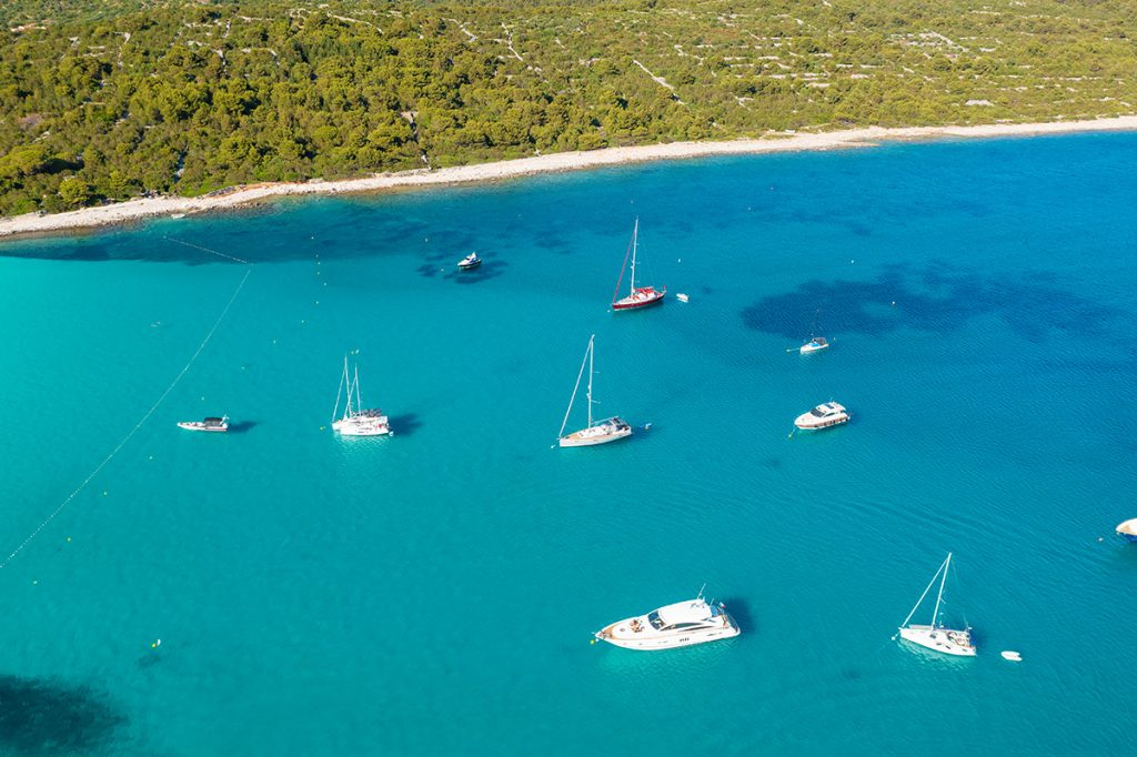 dugi otok, plaža, sakarun, nautika, jedrenje