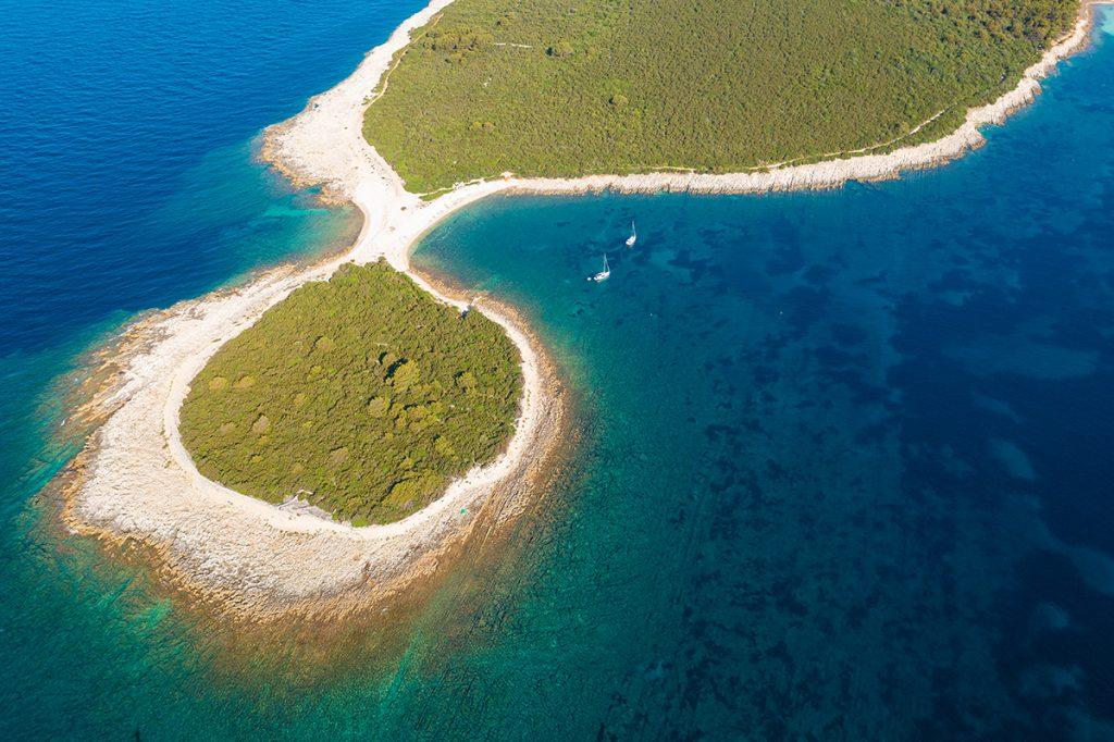 dugi otok, plaža, sakarun, rt lopata